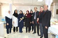 معاونت درمان دانشگاه علوم پزشکی کاشان به همراه جمعی از مسئولین از بیمارستان های شهرستان آران و بیدگل بازدید کردند.