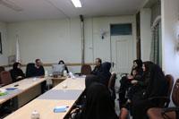 برگزاری جلسه هم اندیشی مسئولین و پرسنل آزمایشگاه